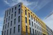 Isolation extérieure d'un immeuble en construction - 81077635