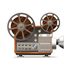 Film Projector Realistic
