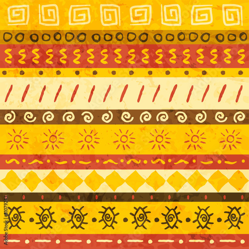 African ornament - 81079243