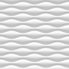 White seamless wavy background