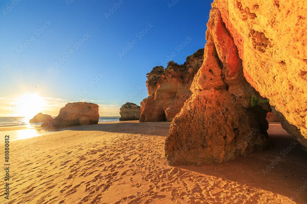 plaża niebieski cave - powiększenie