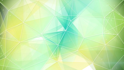 cyan and yellow triangles pattern seamless loop 4k (4096x2304)