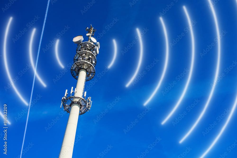 cyberprzestrzeni bystry radiowy - powiększenie