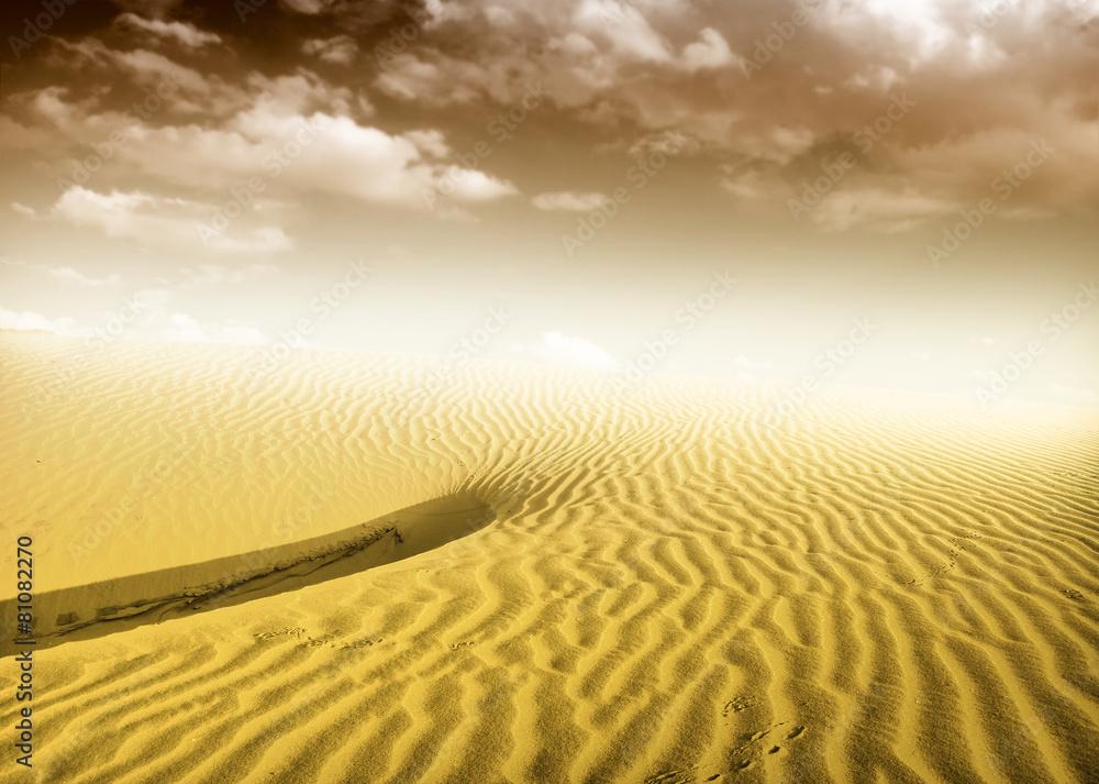 sundown wydma światło słoneczne - powiększenie