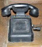Vintage - Nostalgia - Dusty Phone From Times Long Past poster