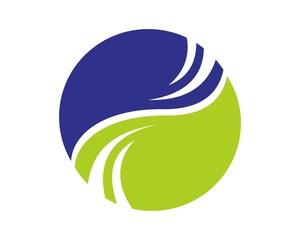 abstract financial accounting logo