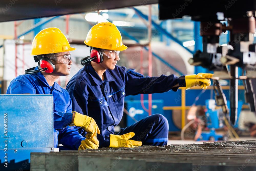frez przemysł produkcji - powiększenie