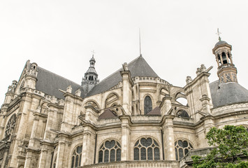 Church of Saint Eustache in Paris