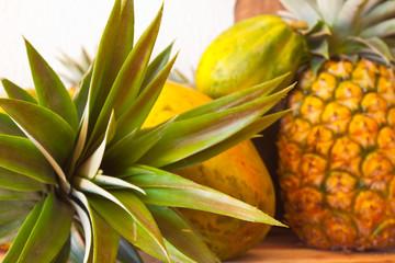 nature morte, fruits tropicaux