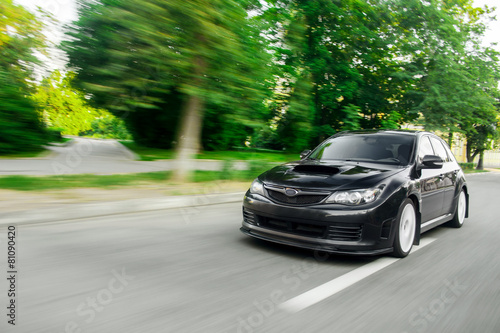 Speed Car Drive - 81090420