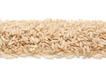 Unpolished rice seed