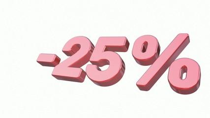 Sale: - 25%
