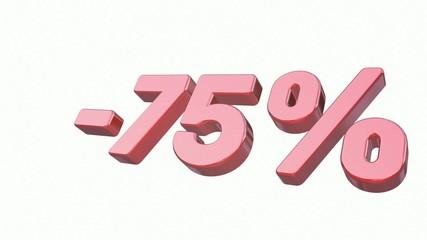 Sale: - 75%