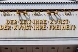 Österreich, Wien,Secession poster