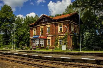 railway station,