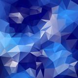 vector polygonal background irregular tessellations pattern poster