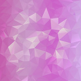 vector polygonal background with irregular tessellations pattern poster