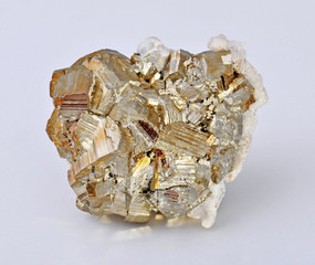 Pyrite, pyrite single large cubes