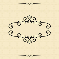 Patterned frame and seamless background