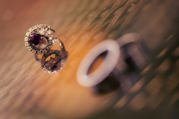 Beautiful wedding and engagement rings