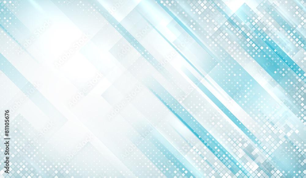 niebieski elegancja futurystyczny - powiększenie