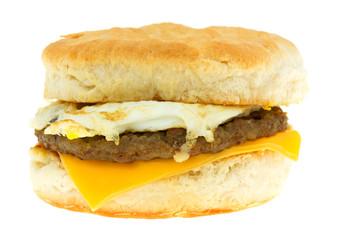 Breakfast Sandwich Isolated