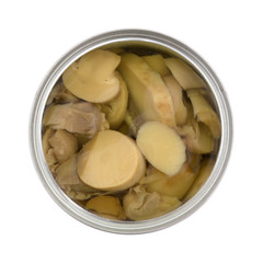 Canned Mushrooms In Can