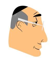 elderly jewish man