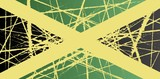 Worn Jamaica Flag
