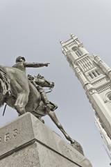 Statue of Reynolds & Masonic Temple, Philadelphia