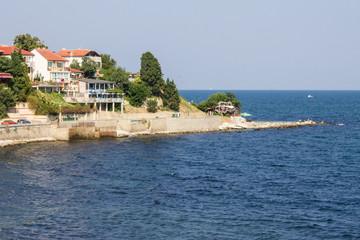 sea coast summer landscape