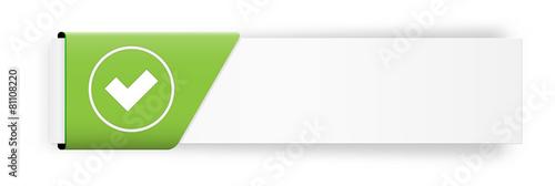 Zdjęcia na płótnie, fototapety, obrazy : The accept button