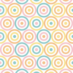 Polka seamless patterns