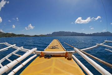 Filipino traditional boat
