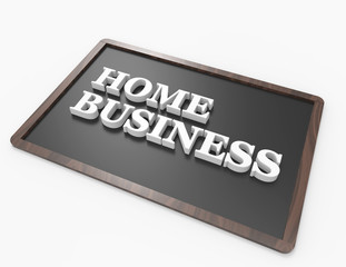 Home Business word concept
