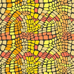 Reptile skin seamless pattern