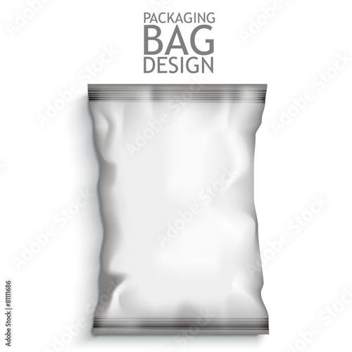 Blank Foil Food Snack - 81111686