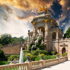 fountain in Barcelona