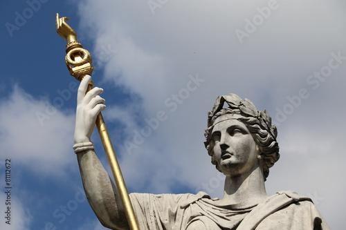 Papiers peints Statue Allégorie de la loi