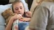 Sick child intensive care