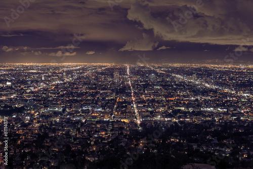 Fotobehang Los Angeles Los Angeles cityscape