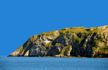 Llandudno Little Orme in North Wales