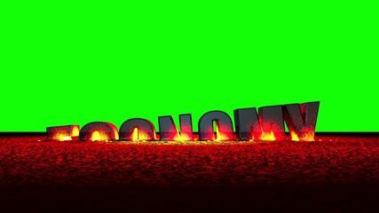 Economy Meltdown (Green Screen)