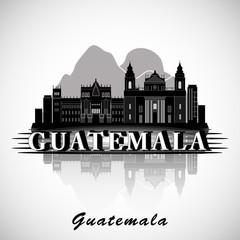 Modern Guatemala City Skyline Design