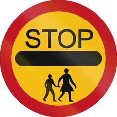 Stop - Children in Brunei