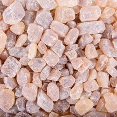 cane sugar crystals background
