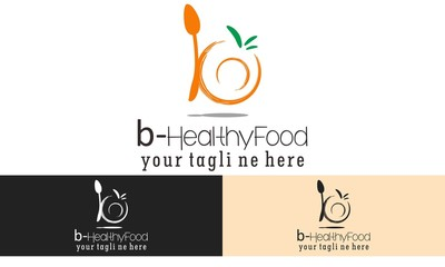 Healthy Food Logo Vector