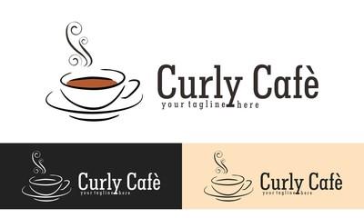 Cafe Logo Vector