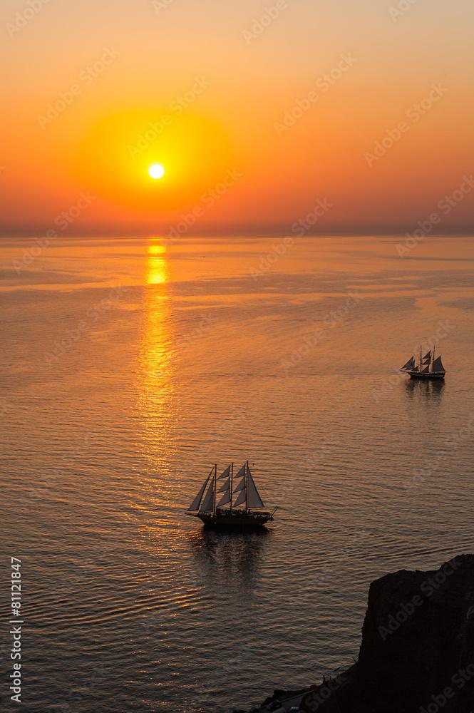 oia morze słońce - powiększenie