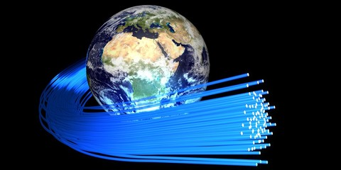 Optical fiber around the world